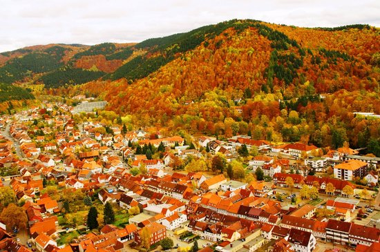 Kneipp-Kurhotel-Heikenberg: Herbstberge und Talblick
