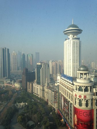 Le Royal Meridien Shanghai: View from our room