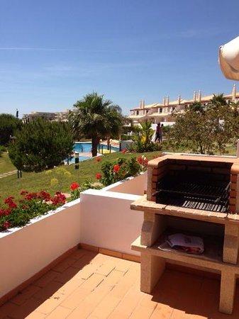 Villas Rufino: BBQ on the terrace
