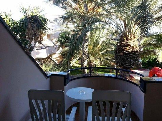 Hotel Atlantis Dunapark: Balcony