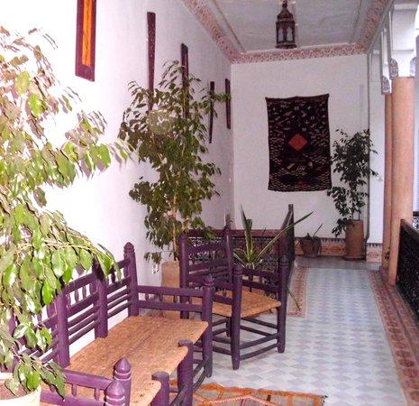 Dar Malaika: Galerie premier étage