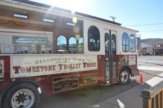 Tombstone Trolley Tour: The Trolley