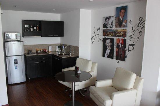 Jazz Apartments: zitgedeelte