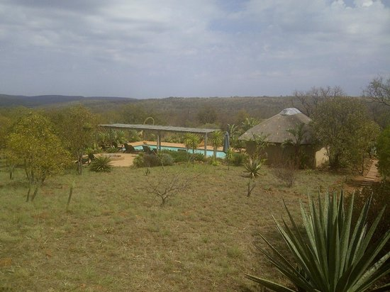 Ukuthula Bush Spa: The view in the morning
