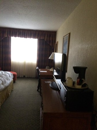 Allure Resort International Drive Orlando: The room that would not get above 66 degrees