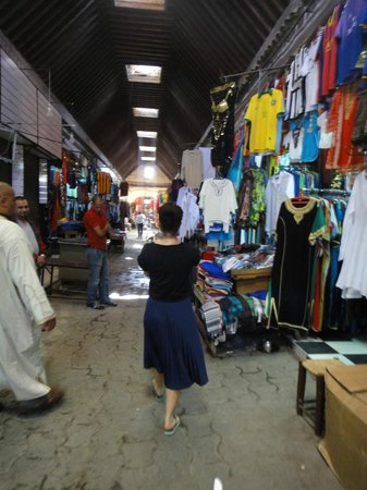 Riad Karmela: the market - the quiet part!