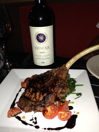 Ciao Bistro: the best veal chop
