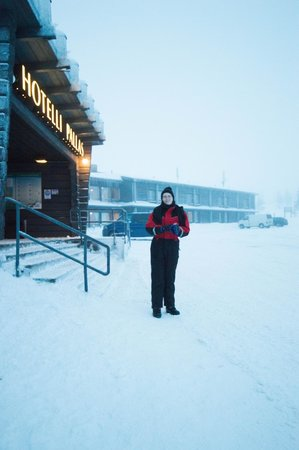 Lapland Hotel Pallas : Outside the Hotel