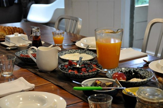 TARA Guest House: Delicious breakfast