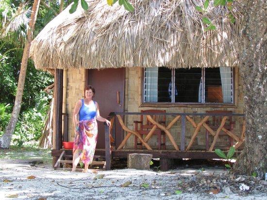 Leleuvia Island Resort: Our bure, Walu #16.