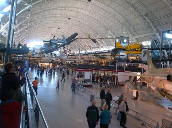 Smithsonian National Air and Space Museum Steven F. Udvar-Hazy Center: Much more than we'd expected.