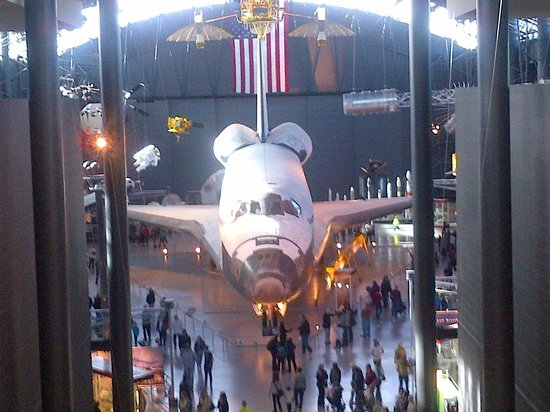 Smithsonian National Air and Space Museum Steven F. Udvar-Hazy Center: Worth the visit just to see this!