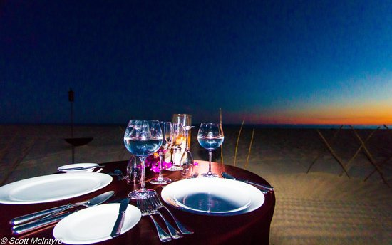 Romantic Dinner On The Beach Is A Must Picture Of Marquis Los