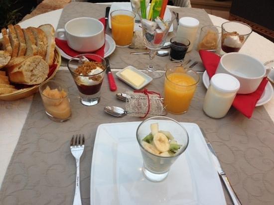 La Ferme de l'Oudon : petit dejeuner royal