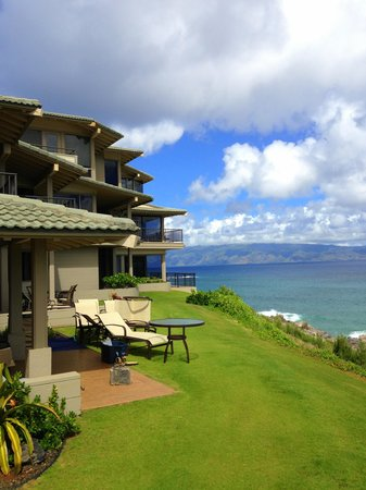 The Kapalua Villas, Maui: Oceanfront villas (next time!)