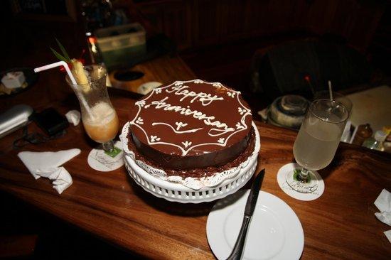 Namale Resort & Spa: Cake for us