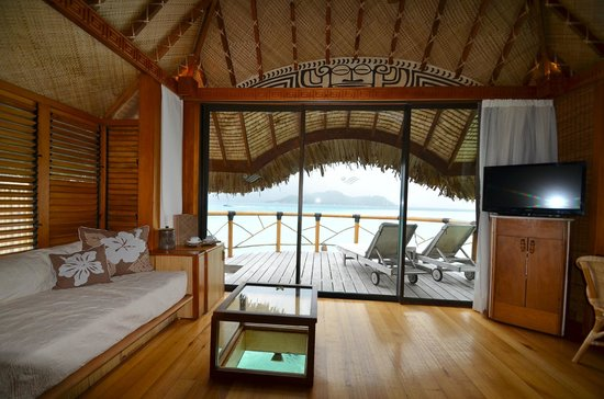 Bora Bora Pearl Beach Resort & Spa: OWB