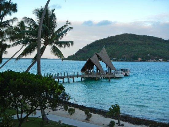 Bora Pearl Beach Resort Spa Ferry Boat Dock