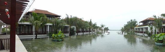 Vinh Hung Emerald Resort: Panorámica zona común