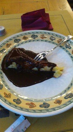 Osteria I Santi: Torta di pere con cioccolato