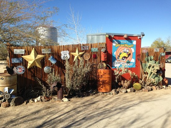 Spin and Margie's Desert Hideaway : Fun, fun