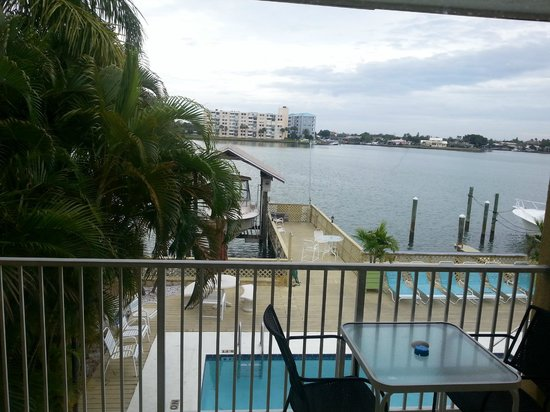 Enchanted Suites on the Bay : from porch
