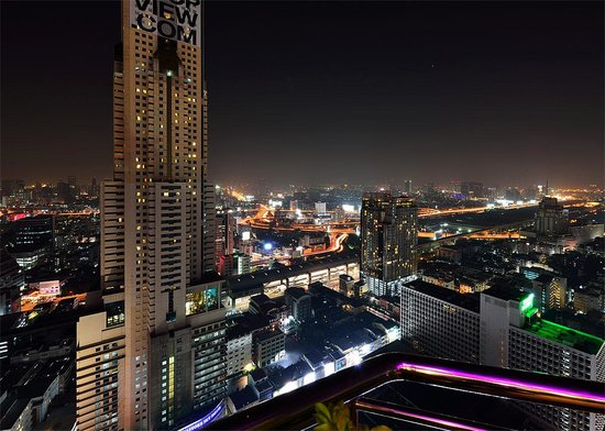 Baiyoke Suite Hotel : Night Bangkok. 4