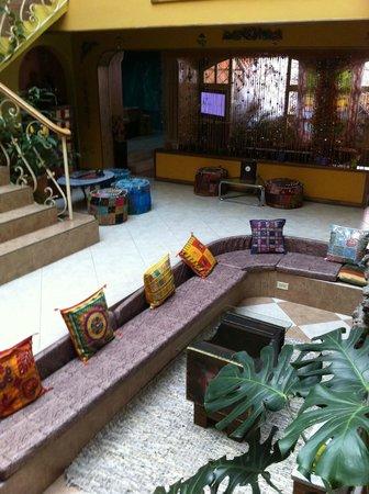 India Chez Moi Boutique Hotel: Common area