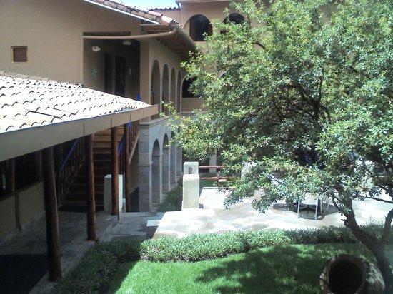 Casa Andina Classic Cusco San Blas : pasillo hacia las habitaciones