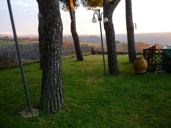 Villa Il Fedino: giardino