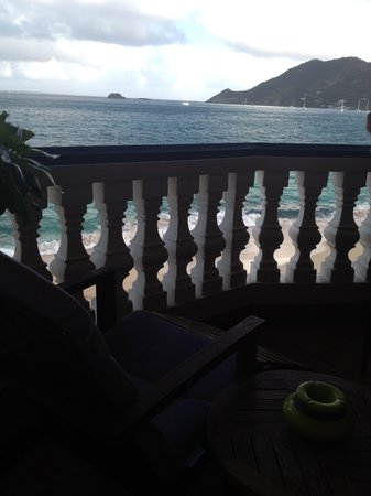 Le Petit Hotel: Balcony view