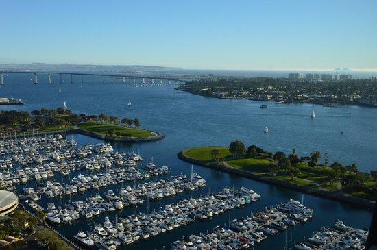 Manchester Grand Hyatt San Diego: Beautiful bay view