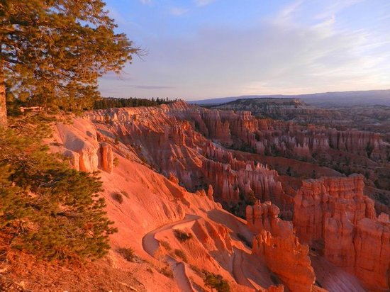 Bryce Canyon Lodge : Sunrise in the amphitheater