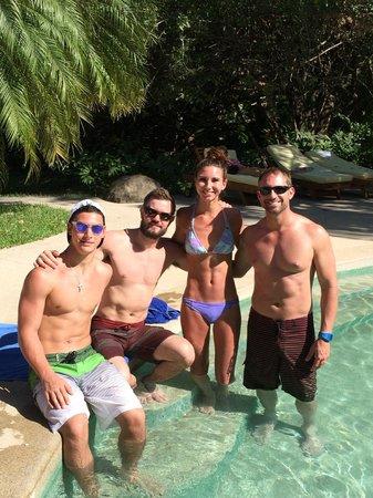 Hotel Capitan Suizo: pool area
