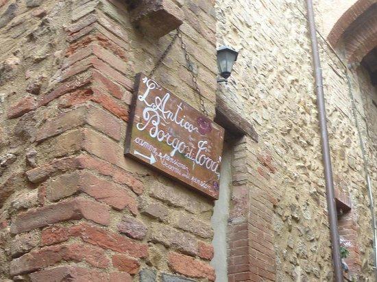 Agriturismo Borgo di Torri: Ingresso Struttura