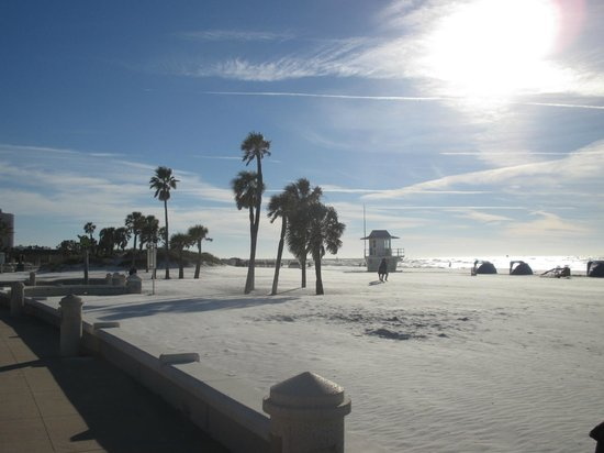 Clearwater Beach Hotel : Lovely Clearwater beach