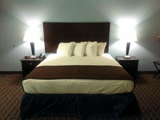 Quality Inn & Suites: King Suite