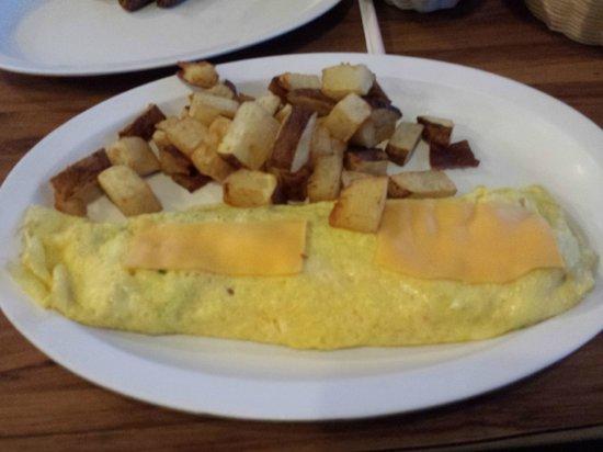 Grannies Restaurant: Grannies omelet