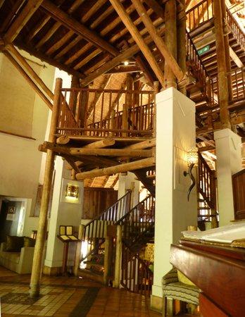 Victoria Falls Safari Lodge : Les paliers
