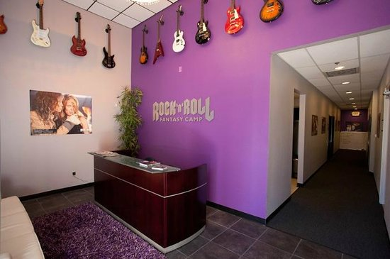 Rock 'N' Roll Fantasy Camp - Rock Star for a Day Experience: RRFC Front Desk