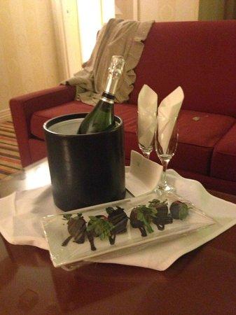 Renaissance Washington, DC Dupont Circle Hotel : A surprise for my birthday!