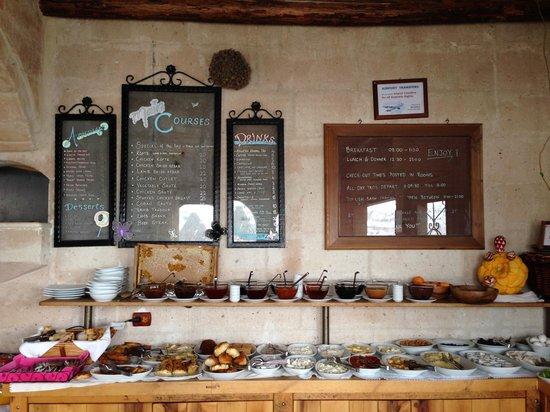 Kelebek Special Cave Hotel: Breakfast