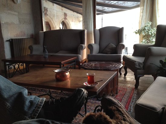 Kelebek Special Cave Hotel: Turkish Tea