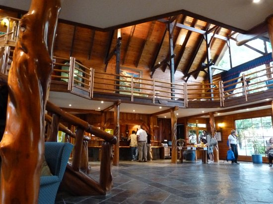 Knysna Log-Inn Hotel: Lobby