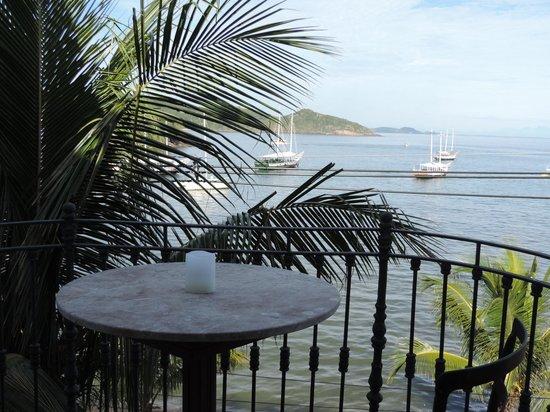 Casas Brancas Boutique Hotel & Spa: view from balcony