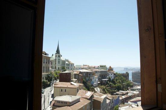 Hotel Fauna : vista desde la cama