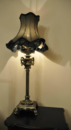A boudoir lamp - Picture of The Holcombe Inn, Holcombe - TripAdvisor