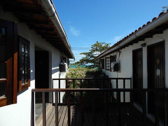 Cesar Apartamentos: vista del valcon de apto
