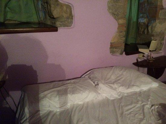 Castello di Tornano: Letto