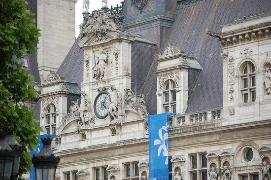Hôtel de Ville: Stadhuis van Parijs